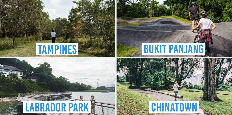 hidden parks singapore