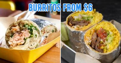 Chimichanga Singapore Burrito Offer