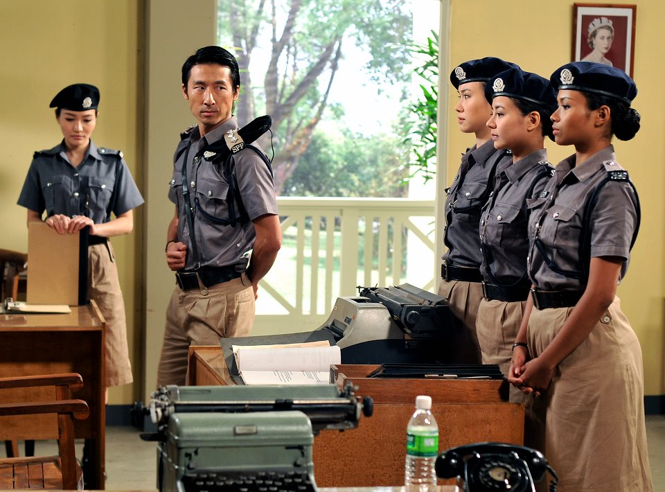 Mata-Mata is a Singapore TV series that follows policewomen in post-war Singapore.