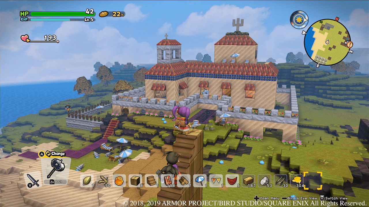 Dragon Quest Builders 2 Multiplayer Nintendo Switch games