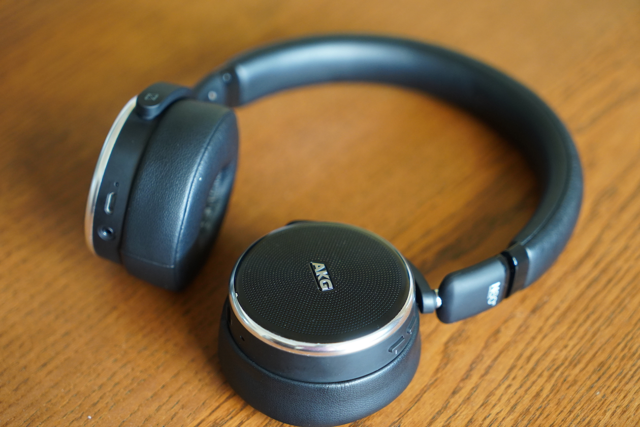 The AKG N60 NC is a compact noise cancelling headphone you can get in Singapore.
