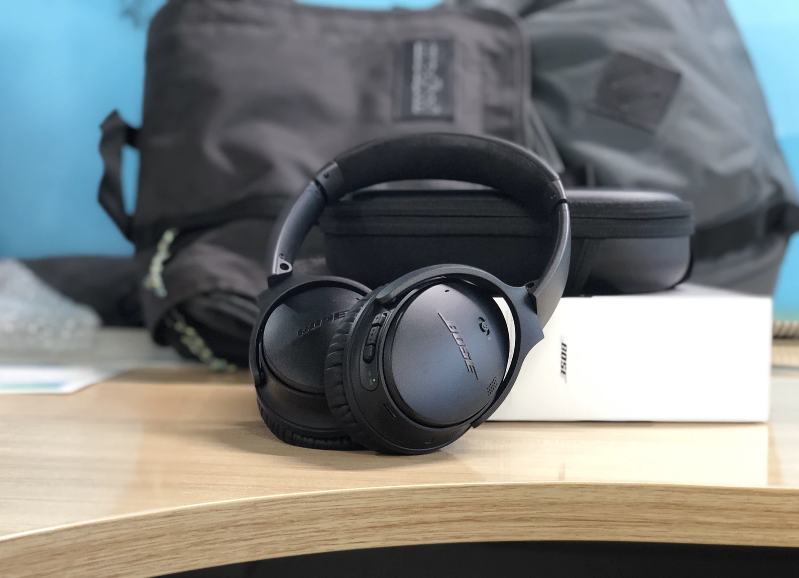 The Bose QC35 II are one of the most iconic noise cancelling headphones in Singapore that can help you as you work from home.