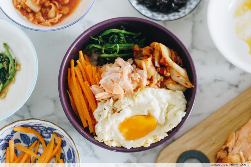 bibimbap one-pot recipes