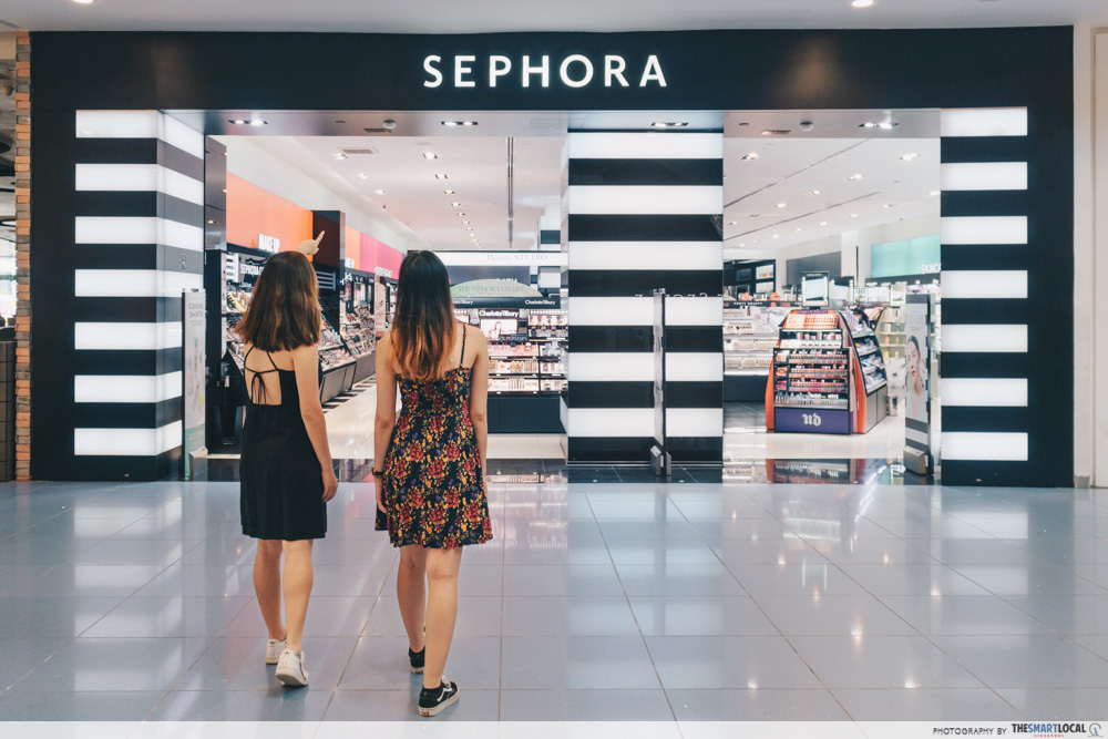 sephora shopping