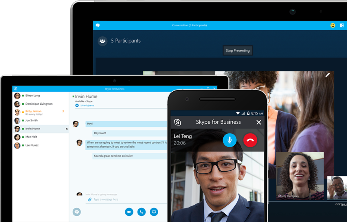 Skype is a cross-platform video calling app available in Singapore.