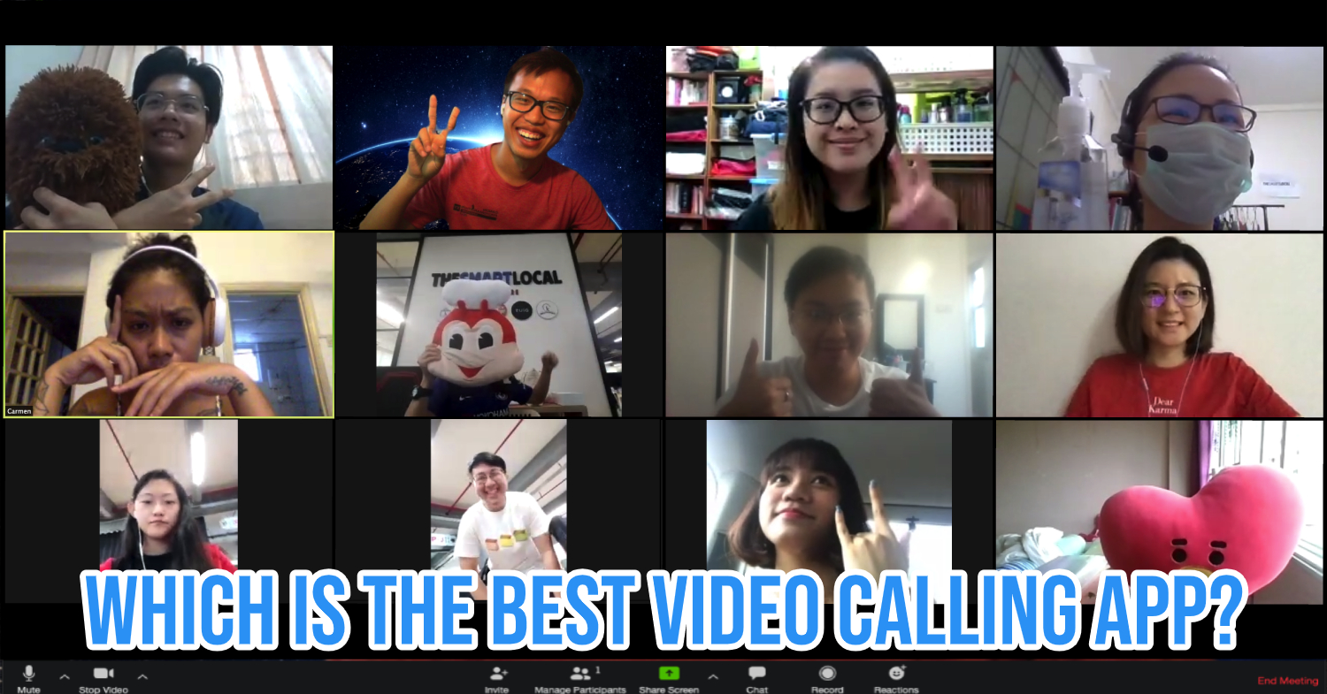Video calling apps and platforms ranked.