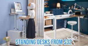 Standing desk Singapore