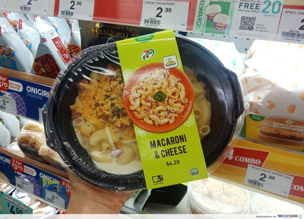 mac and cheese 7-11