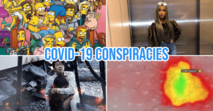 COVID-19 conspiracy cover