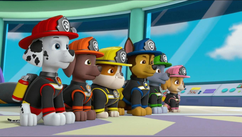 PAW Patrol Cartoon Singtel Cast