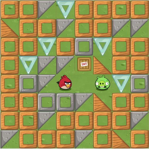Code - angry bird game