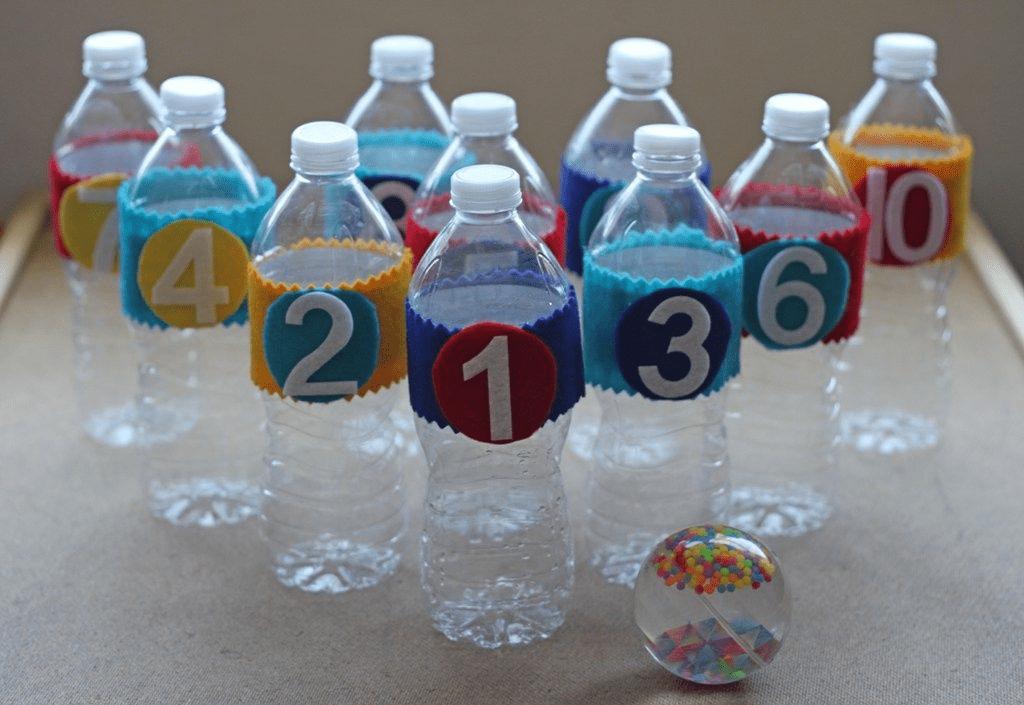 Plastic Bottle Bowling Pin