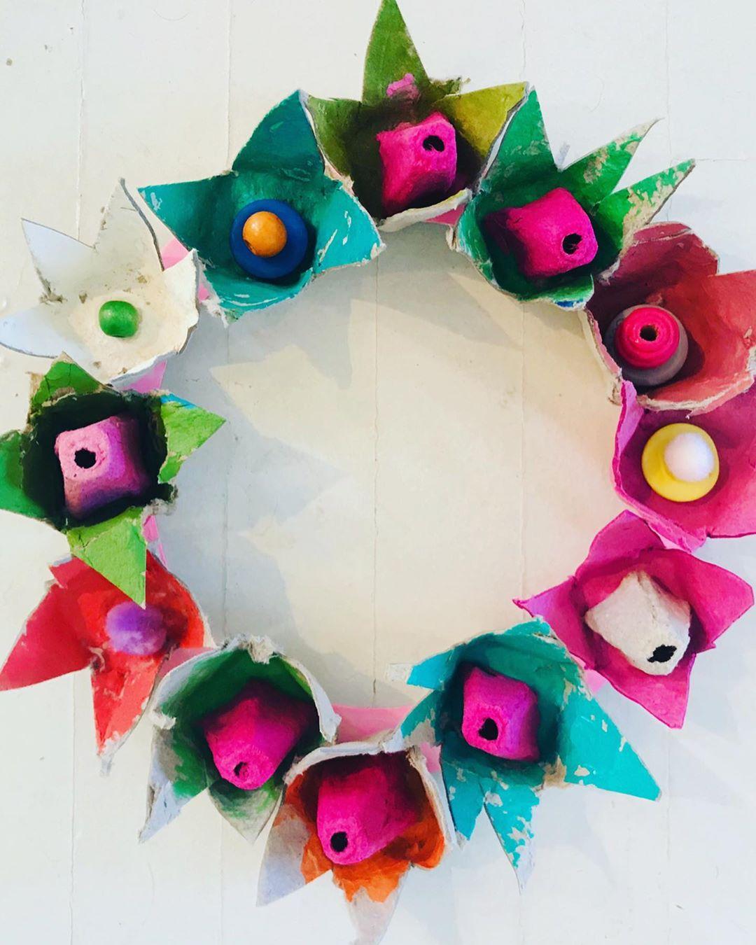 Egg Carton DIY Crafts