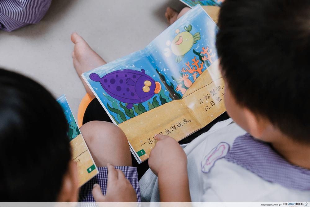 Kids Reading Preschool