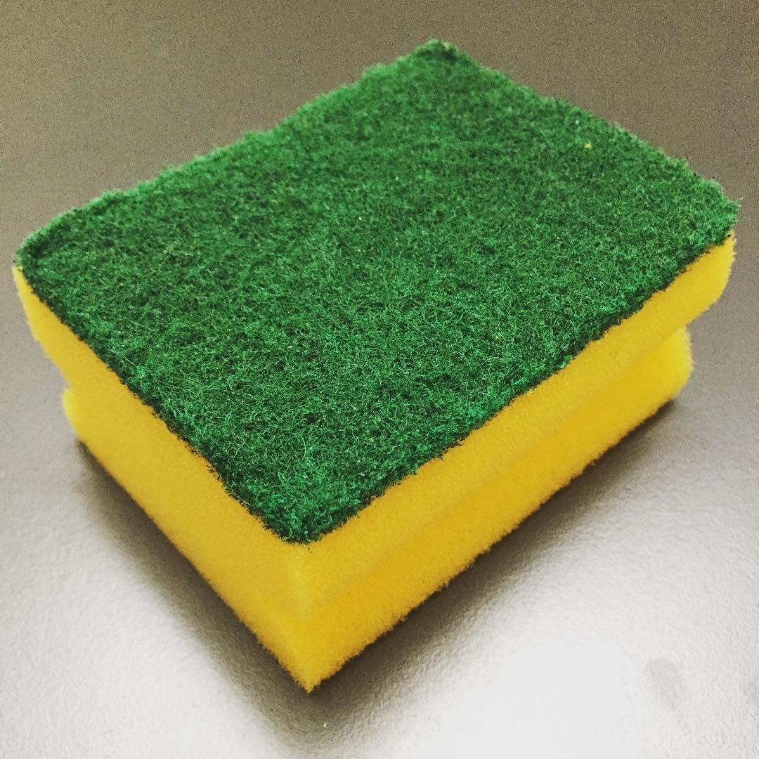 Household items lifespans: dish sponge