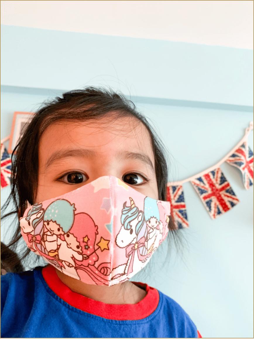 Kids Masks - hiro and jack