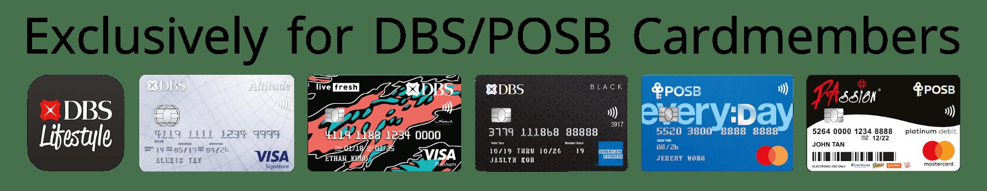DBS POSB Cards Singapore