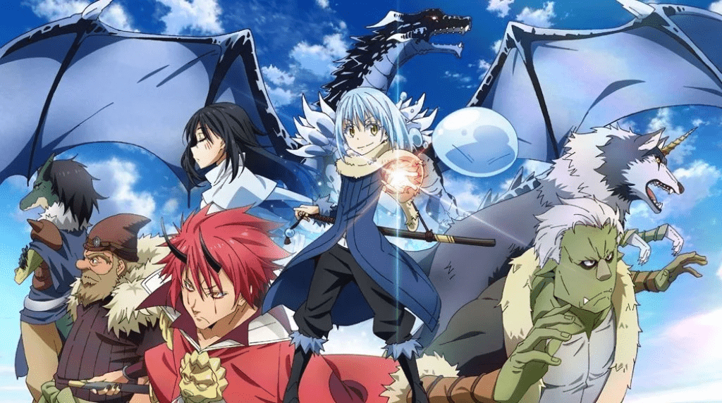 That Time I Got Reincarnated As A Slime is an anime on Netflix about an alternate world.