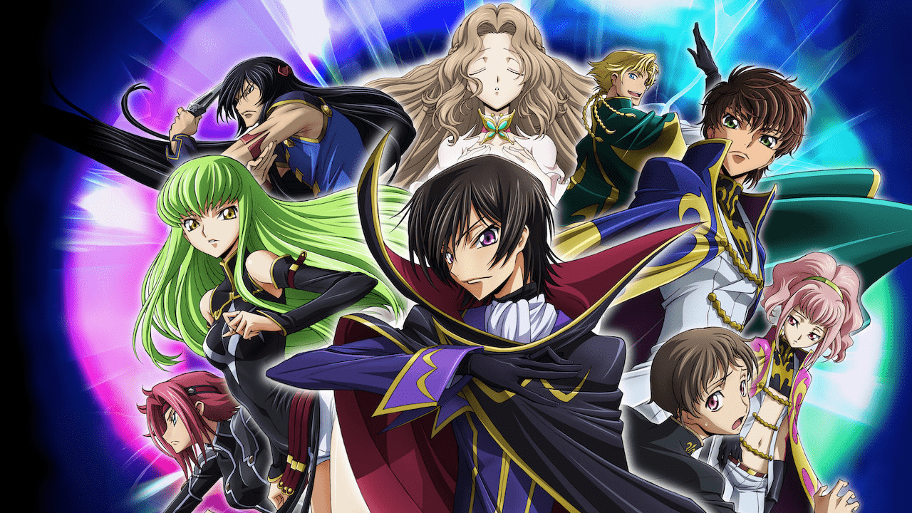 Code Geass is an anime that imagines a world full of superpowers.