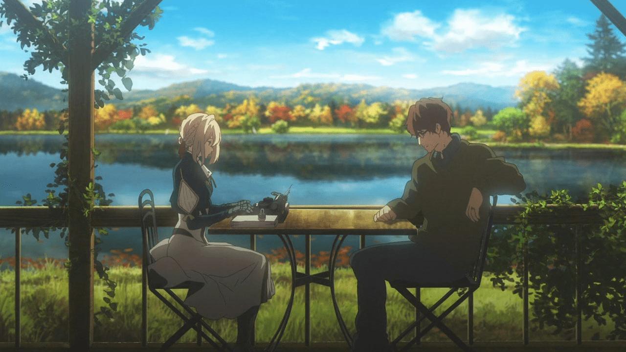 Violet Evergarden is an anime on Netflix.
