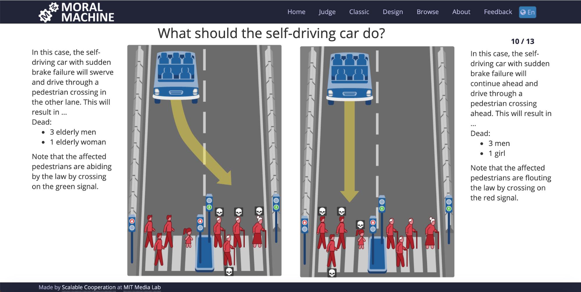 online games: moral machine