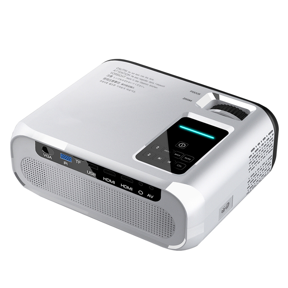 The Mirval Y5s adds wireless connectivity as one of the best home projectors in Singapore.