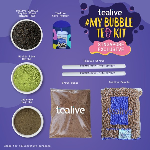 Tealive bubble tea kit