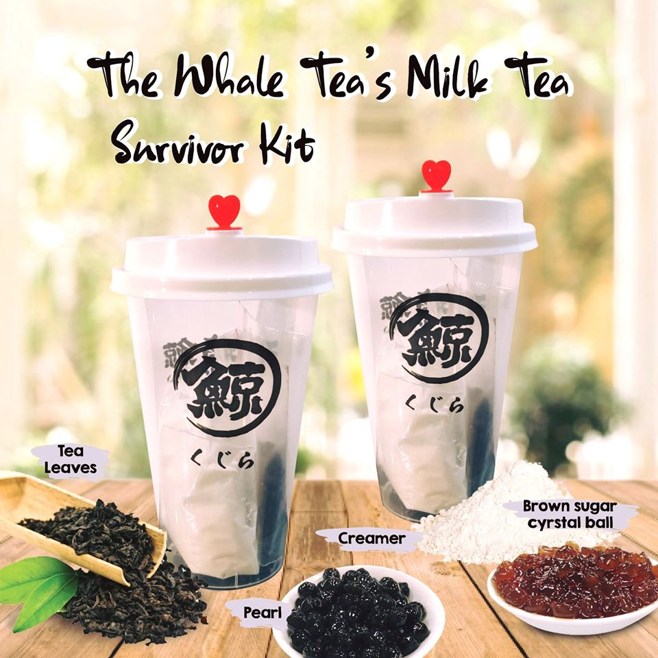 The Whale Tea Survivor Kit