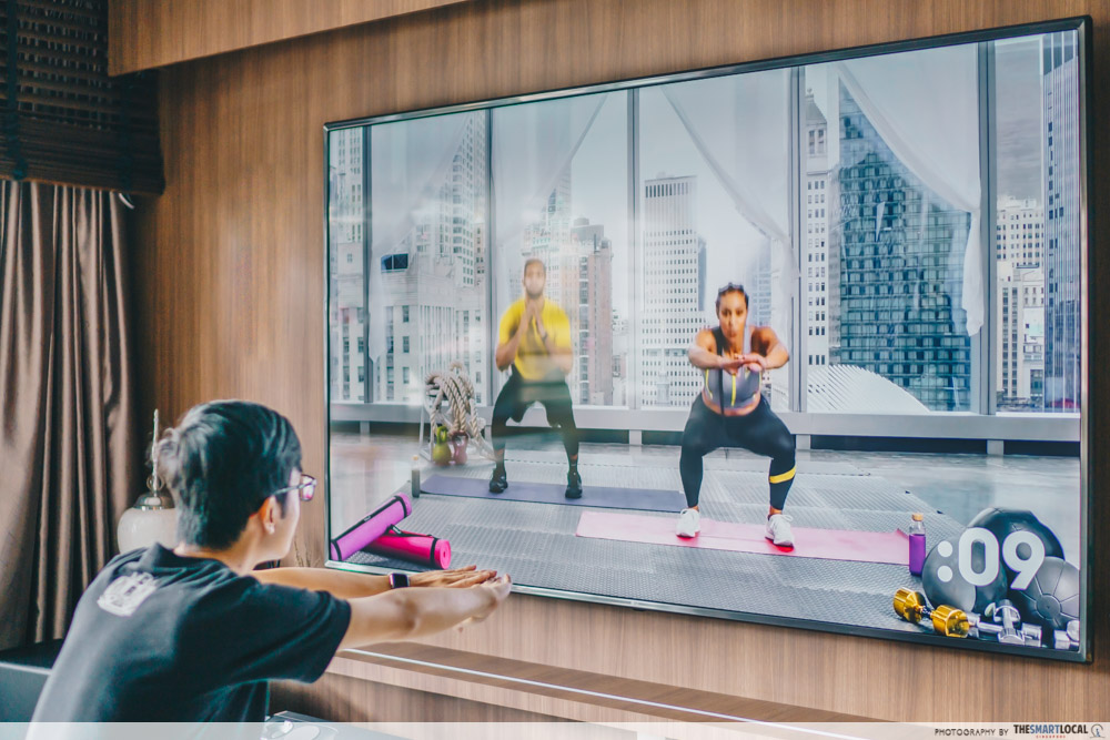 airplay smart TV fitness - Creative ways to use Apple products
