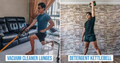 home workouts using household items