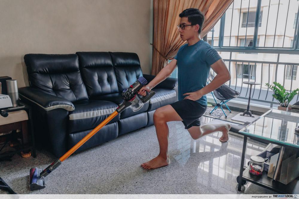 vacuum lunge