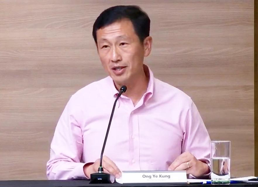 things about minister ong ye kung