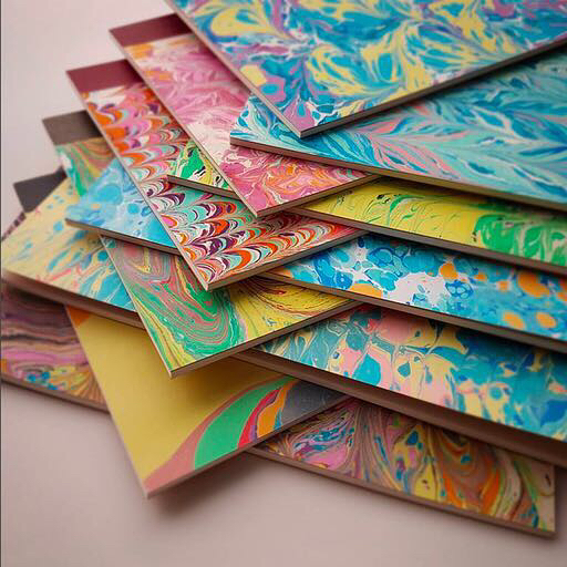 Overjoyed paper marbling - online art supplies stores