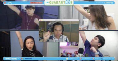 The Quarantine livestream