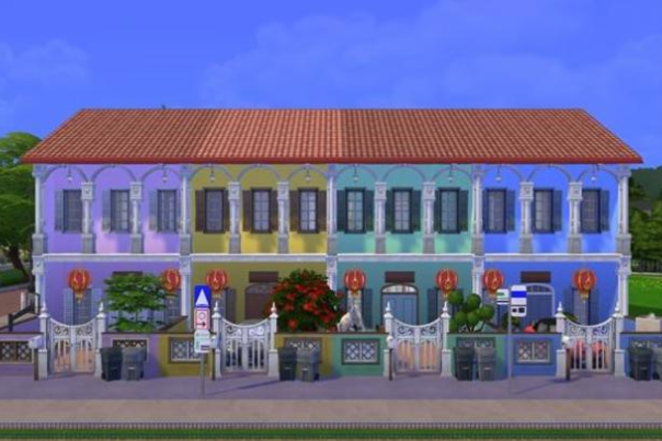 sims 4 peranakan houses