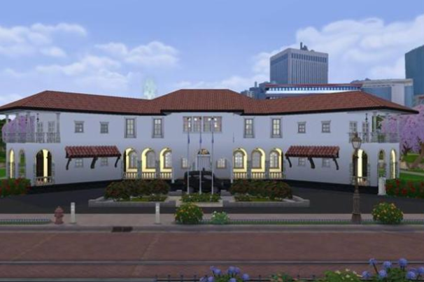 singapore former command house sims 4