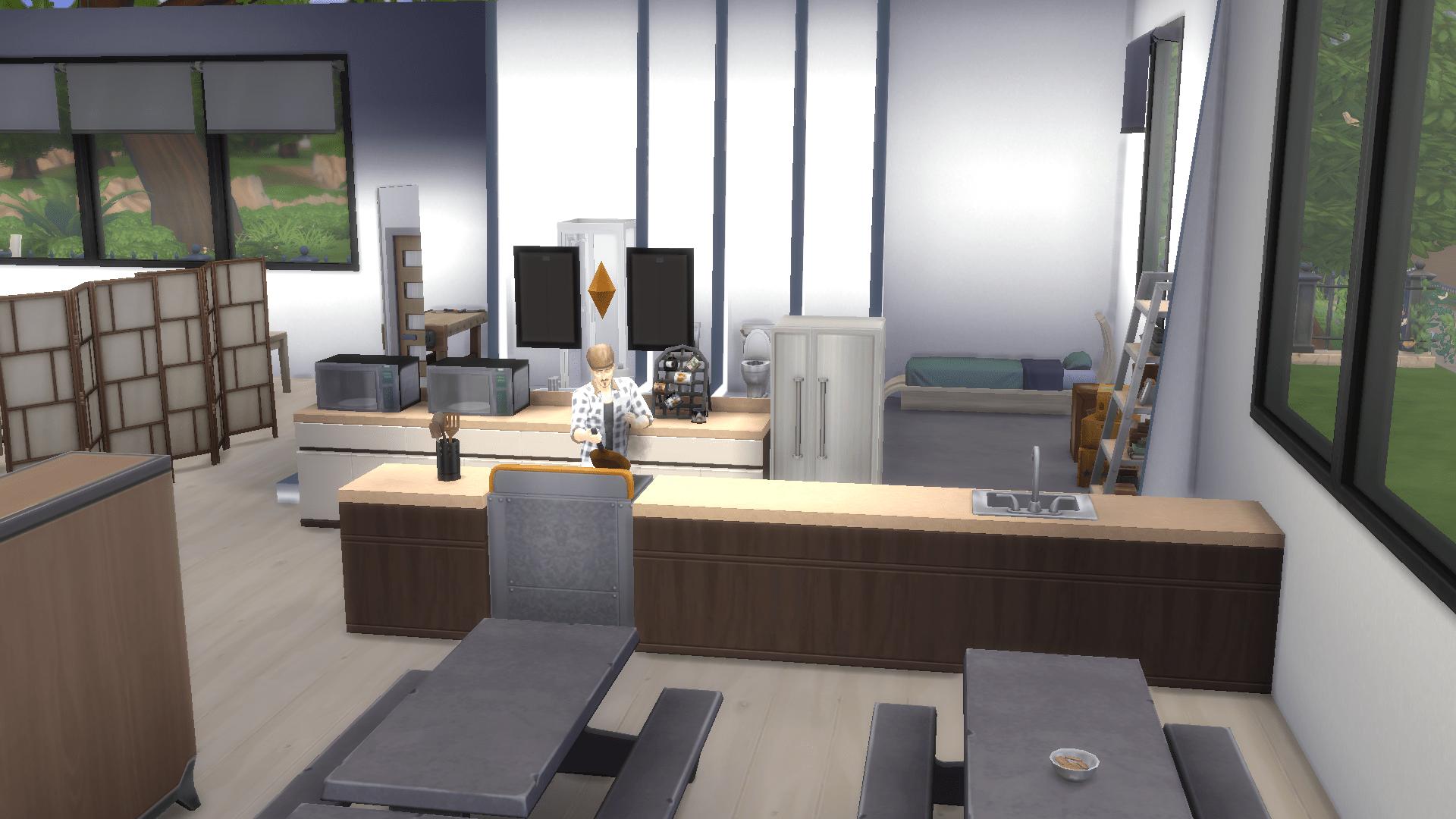 TSL office sims 4