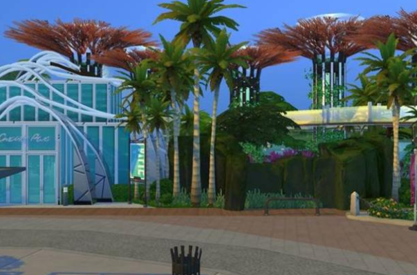 gardens by the bay sims 4