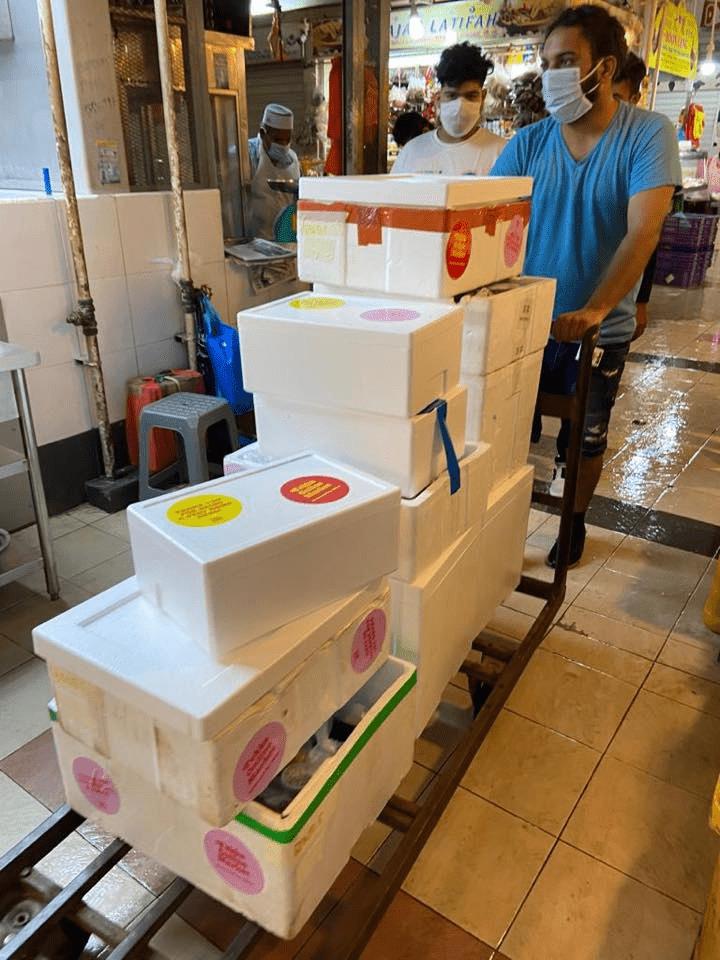 Tekka Online Market delivery