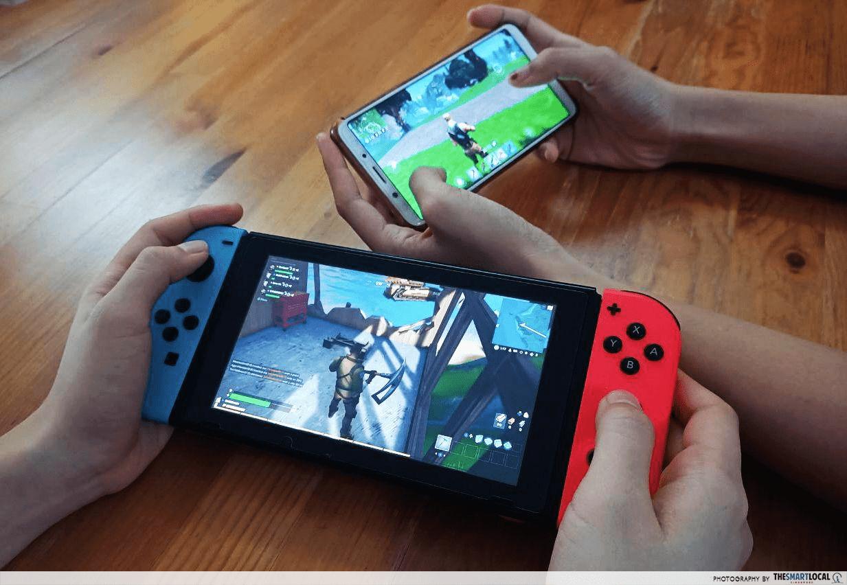 Play Nintendo Switch games cross-platform