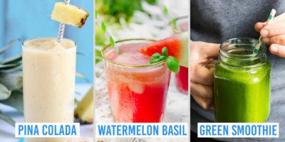 3-ingredient smoothie recipes
