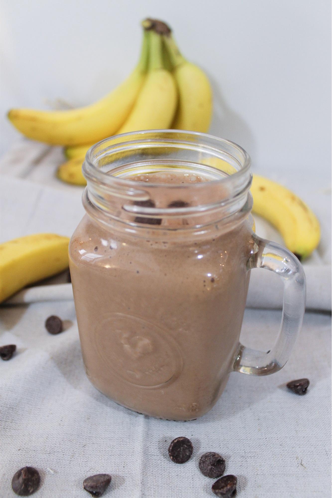 chocolate 3-ingredient smoothie recipes