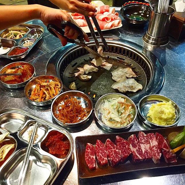 Hongdae KBBQ