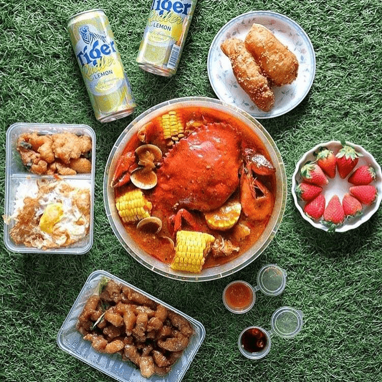 Free islandwide delivery - seafoodfood