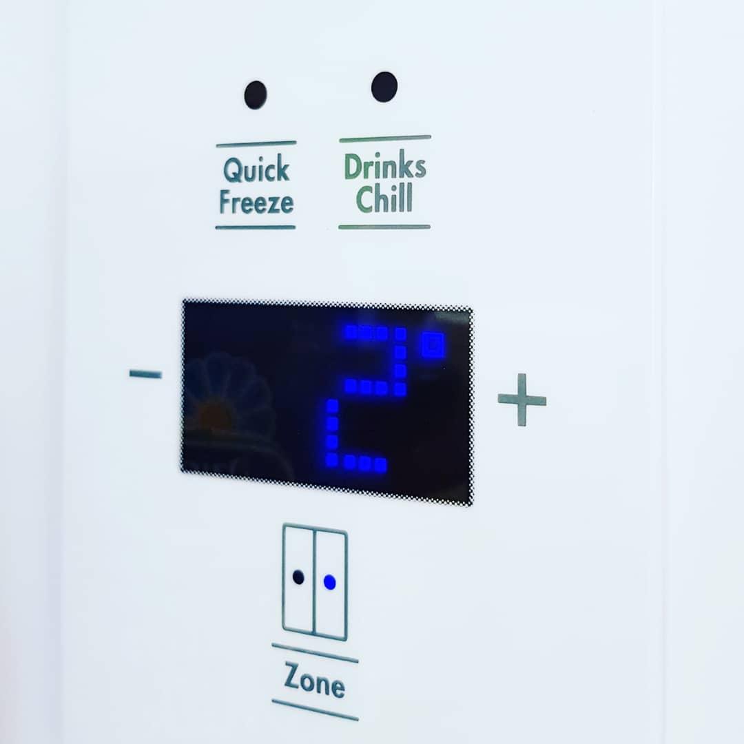 temperature of fridge