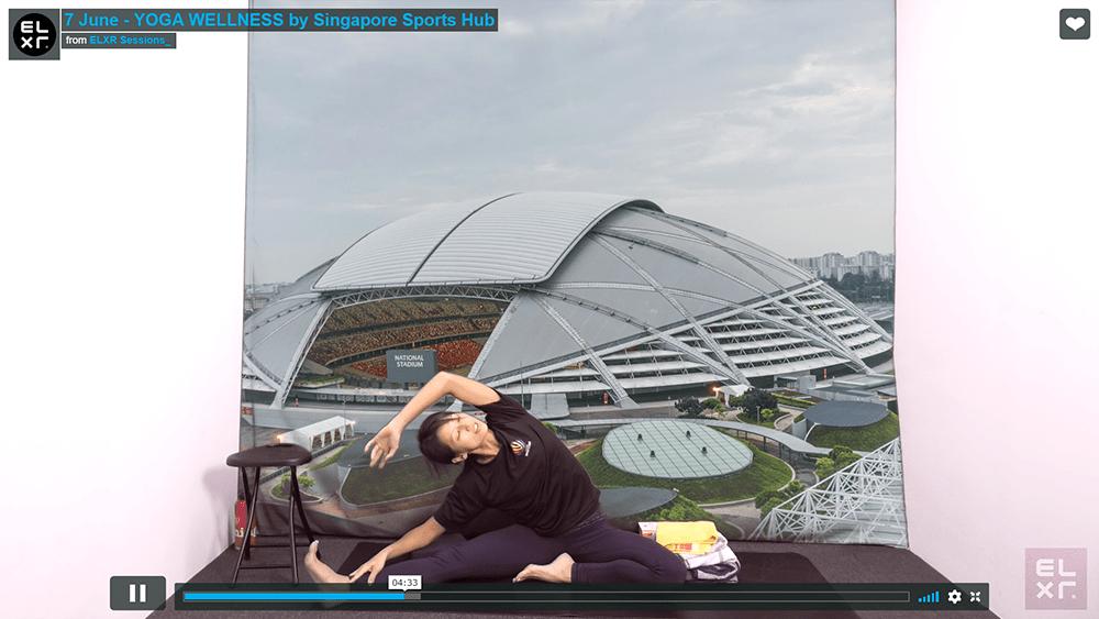 Singapore Sports Hub Live Stream Online Classes