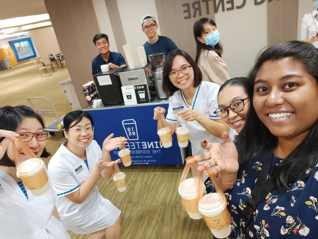 essential workers - donate cold brew