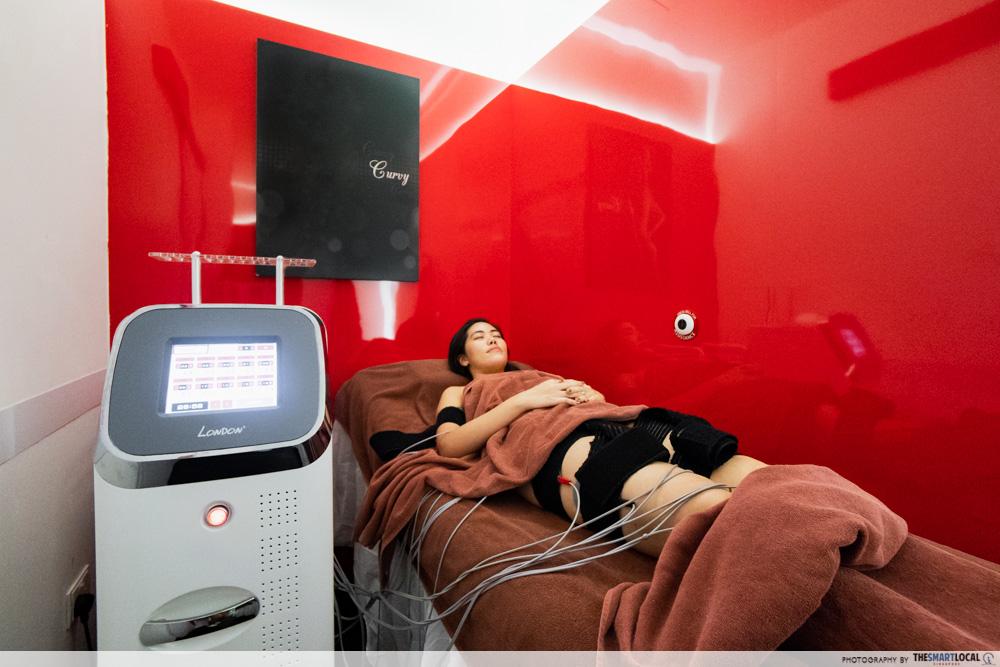 London Weight Management Powerslim Electro Muscle Stimulation