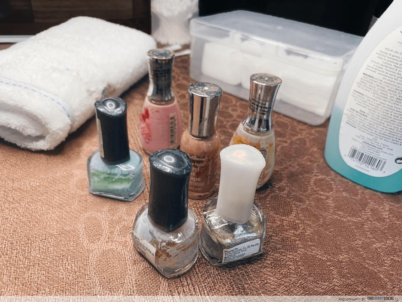 Nails - nail polish