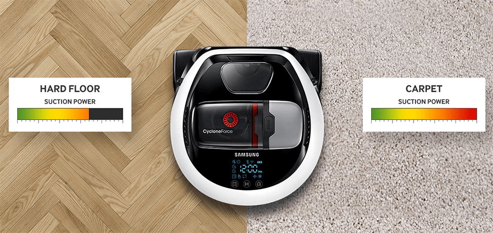 Samsung Power Bot Robotic Vacuum Cleaners in Singapore